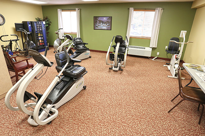Brookdale Seward Heartland Park Fitness Room