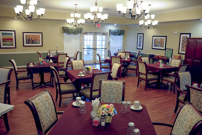 Brookdale Shoals  Dining Room
