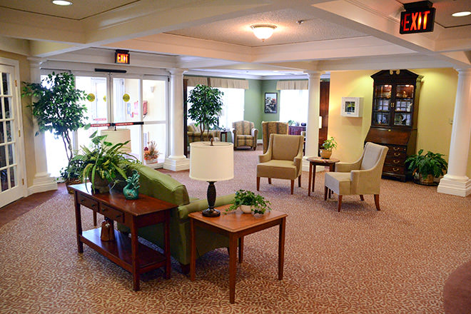Brookdale Sioux City Foyer