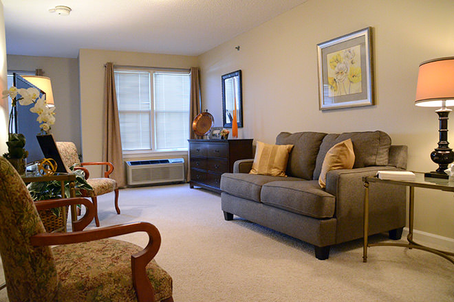 Brookdale Sioux City Living Room