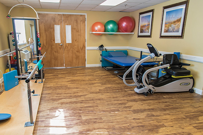 Brookdale Smithfield Skilled Nursing Therapy Room
