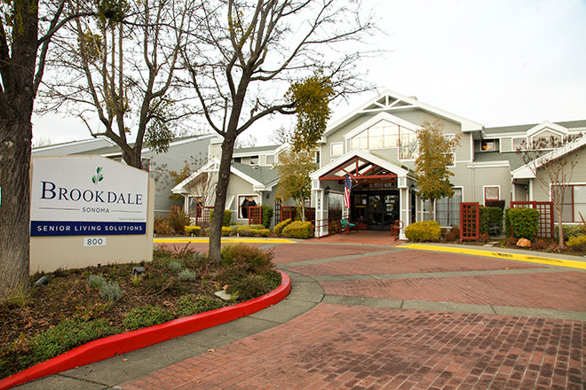 Brookdale Sonoma Entrance