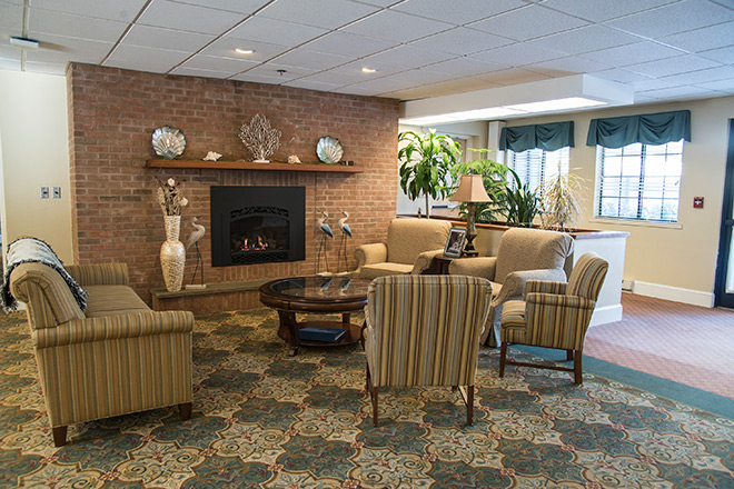 Brookdale South Bay Skilled Nursing Living Room