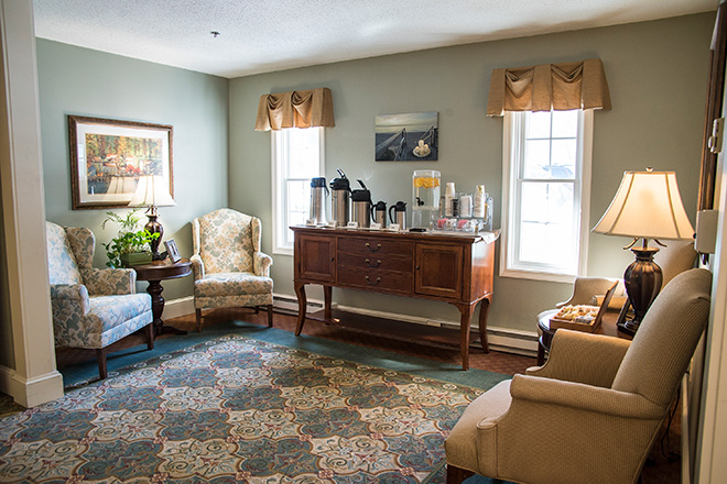 Brookdale South Bay Skilled Nursing Foyer