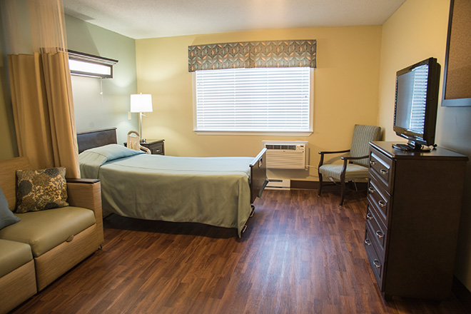 Brookdale South Bay Skilled Nursing Bedroom