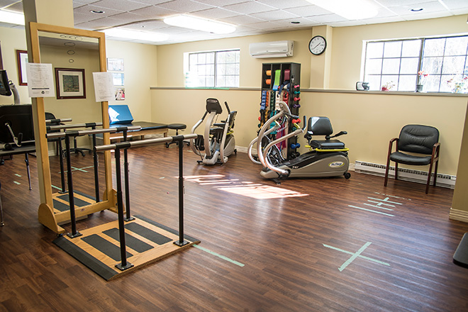 Brookdale South Bay Skilled Nursing Therapy Room