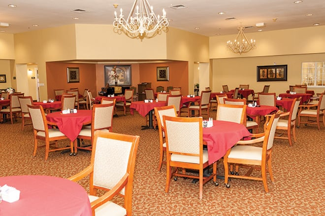 Brookdale South San Angelo Dining Room