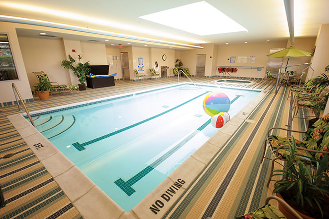 Brookdale Southfield Indoor Pool