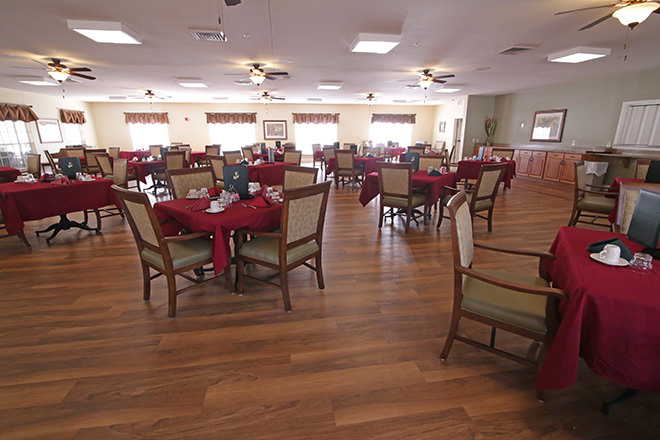 Brookdale Southpoint Dining Room