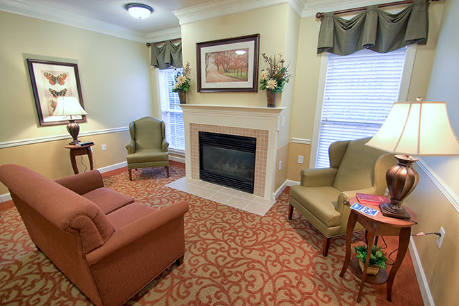 Brookdale Spring Arbor Community Living Room