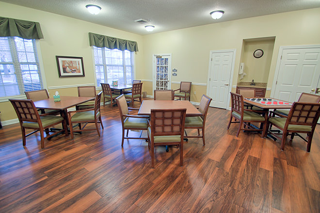 Brookdale Spring Arbor Activity Room