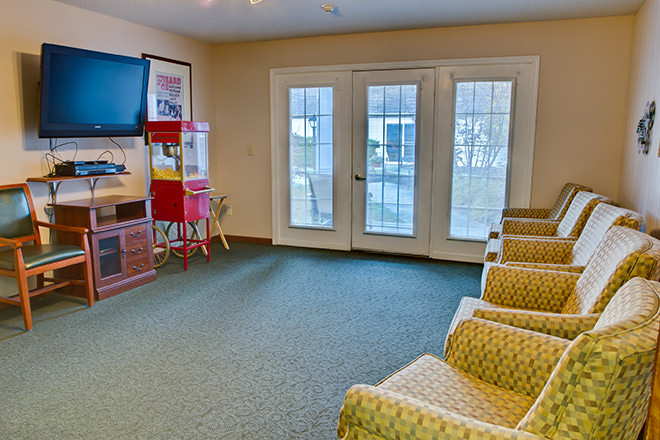 Brookdale Springdale TV Room