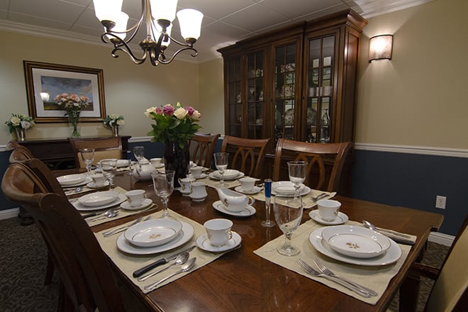Brookdale Sterling Court Private Dining Room