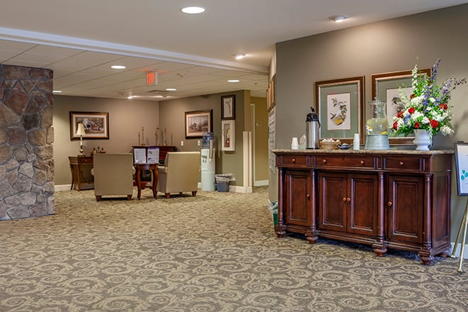 Brookdale Stevens Point Foyer