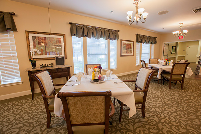 Brookdale Sugar Land Dining Room