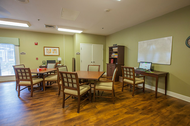 Brookdale Sugar Land Activity Room