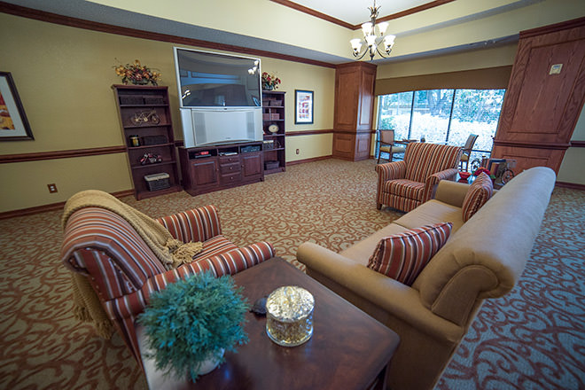Brookdale Summer Ridge Community Living Room