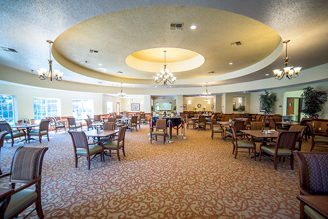 Brookdale Summer Ridge Dining Room