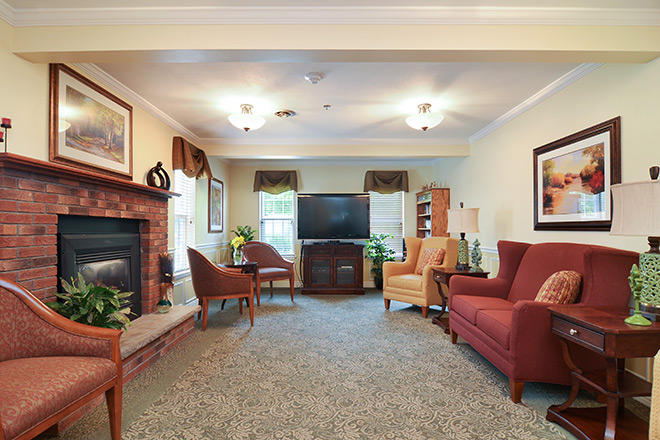 Brookdale Summerfield Community Living Room