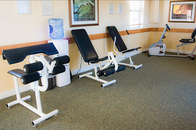 Brookdale Summerfield Fitness Room