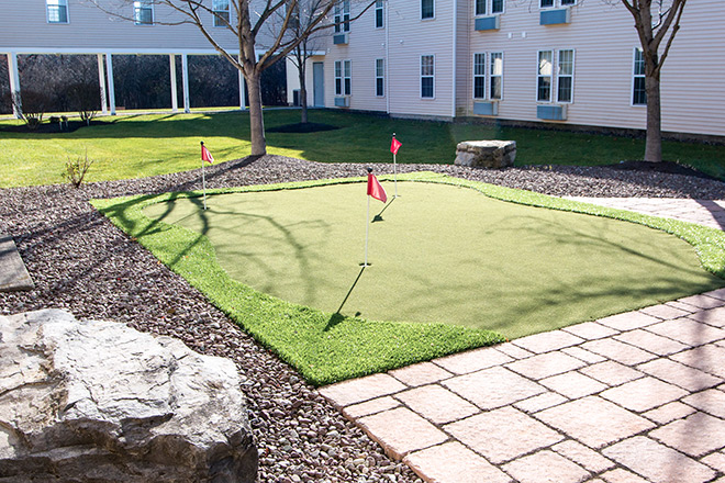 Brookdale Summerfield Putting Green