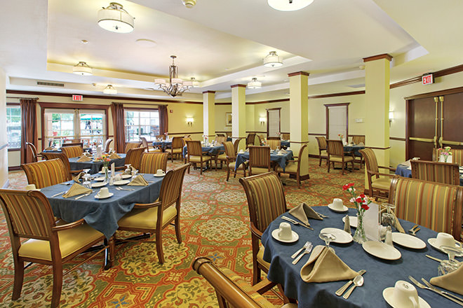 Brookdale Sun City West Sandridge Dining Room