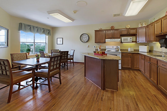 Brookdale Sun City West Sandridge Kitchen