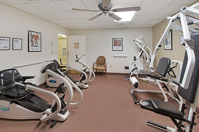 Brookdale Sun City West Sandridge Fitness Room