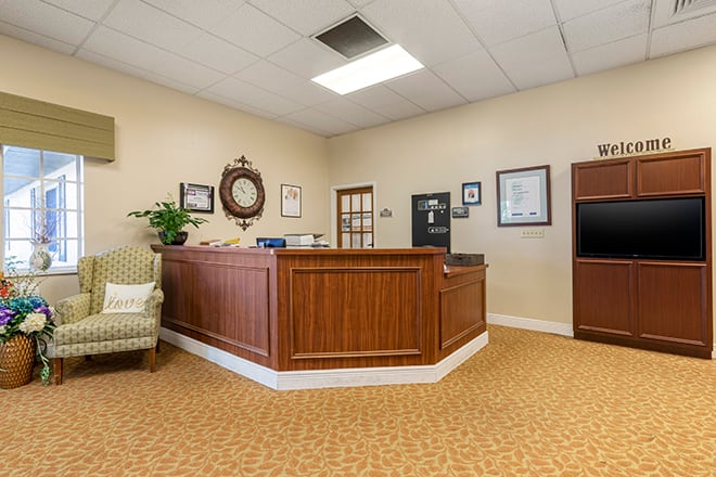 Brookdale Tarpon Springs Foyer