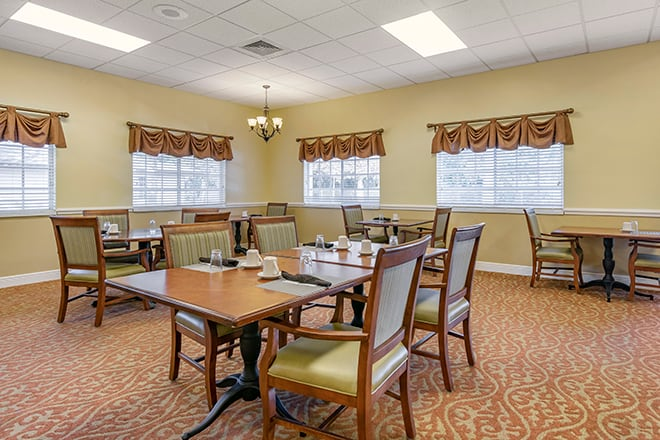Brookdale Tarpon Springs Dining Room