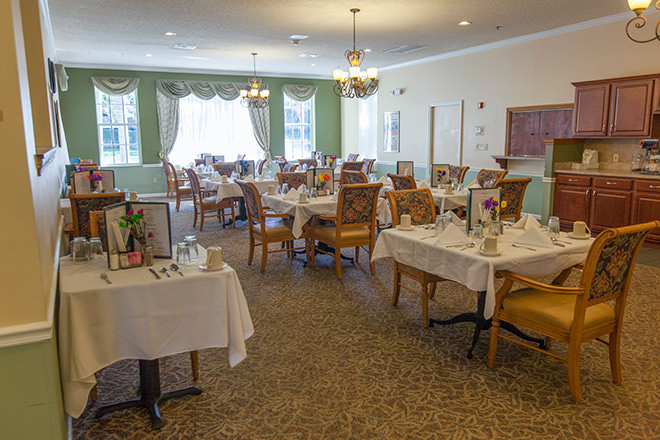 Brookdale Tequesta Dining Room