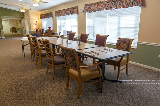 Brookdale Tequesta Activity Room