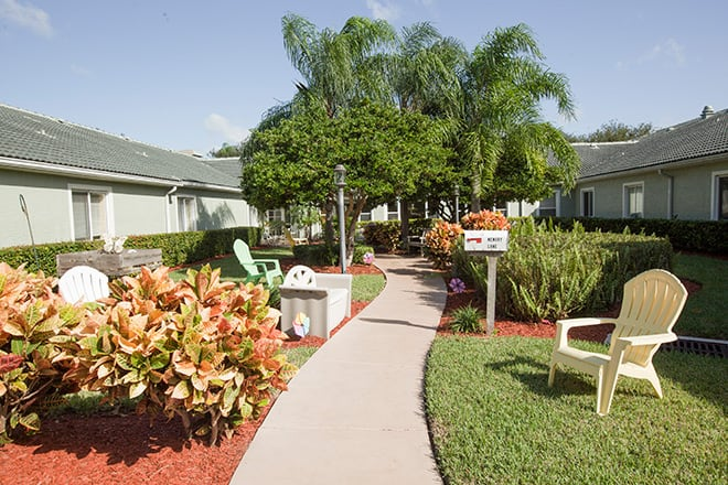 Brookdale Tequesta Patio