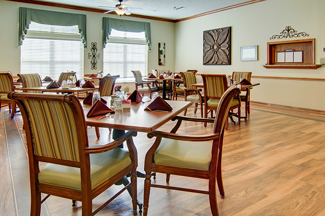 Brookdale Texarkana Dining Room