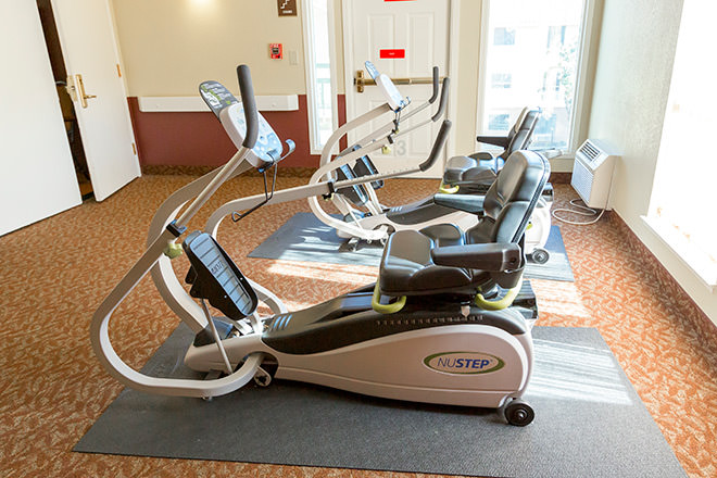 Brookdale Tracy Fitness Room