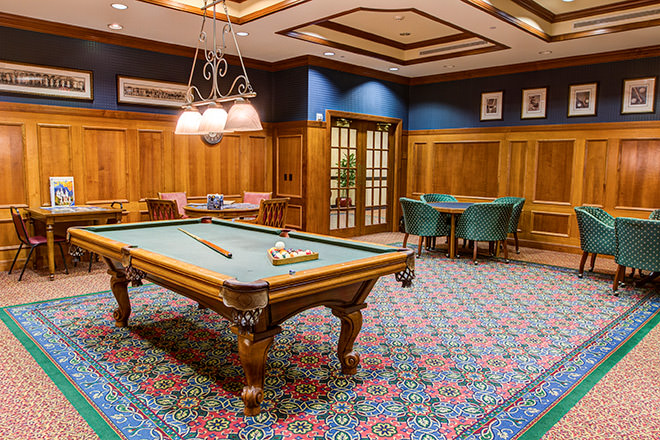 Brookdale Trillium Crossing Billiards