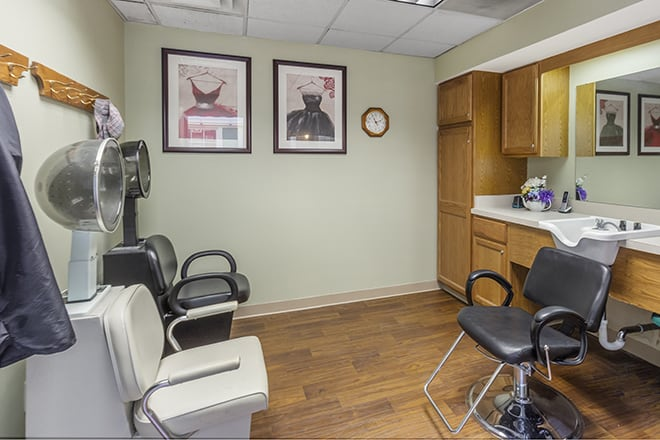 Brookdale Troy Salon