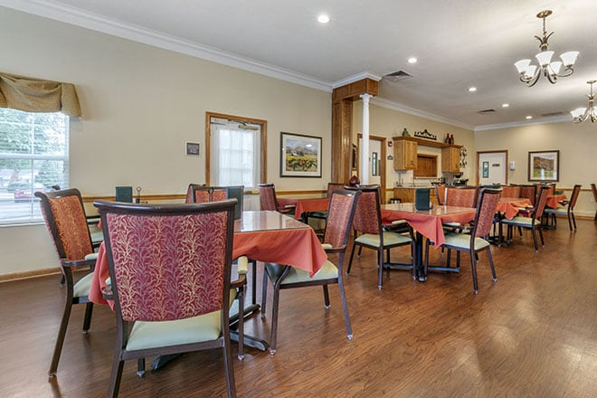 Brookdale Tullahoma Dining Room