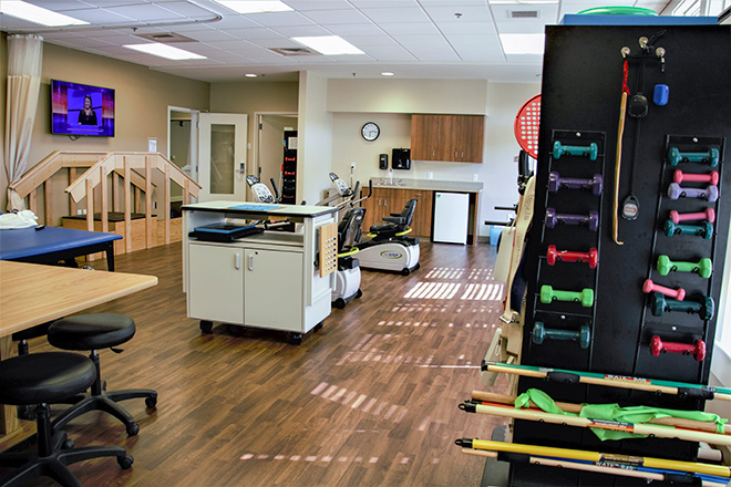 Brookdale University Park Skilled Nursing Therapy Room