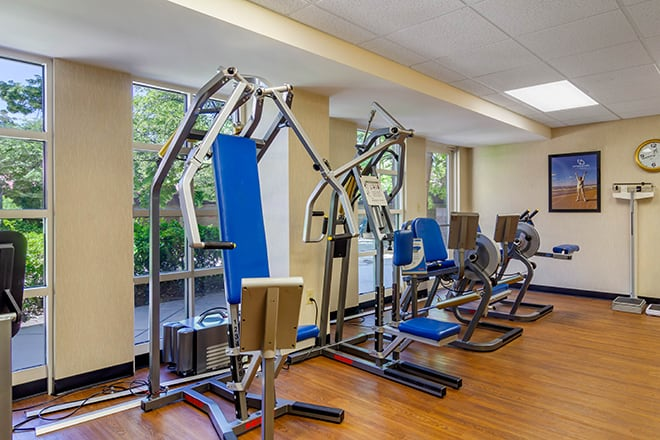 Brookdale University Park Fitness Room