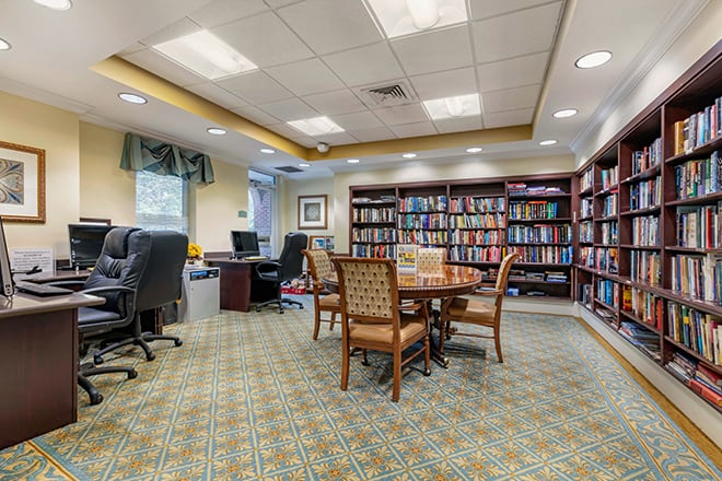 Brookdale University Park Library