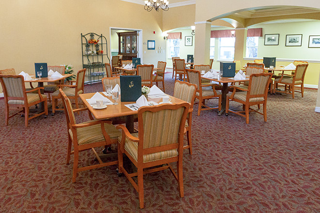 Brookdale Vacaville Dining Room