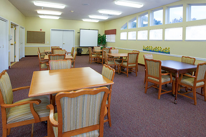 Brookdale Vacaville Activity Room