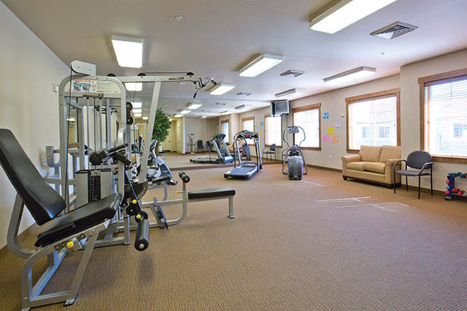 Brookdale Vancouver OrchardsBrookdale Vancouver Orchards Fitness Room
