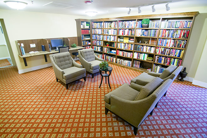 Brookdale Ventana Canyon Library