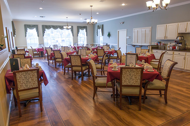 Brookdale Vero Beach South Dining Room