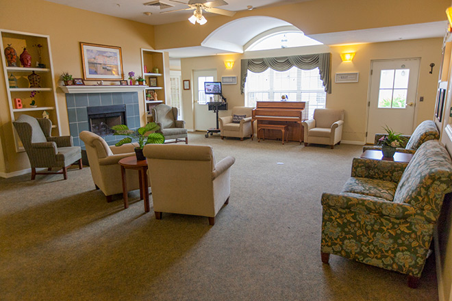 Brookdale Vero Beach South Community Living Room