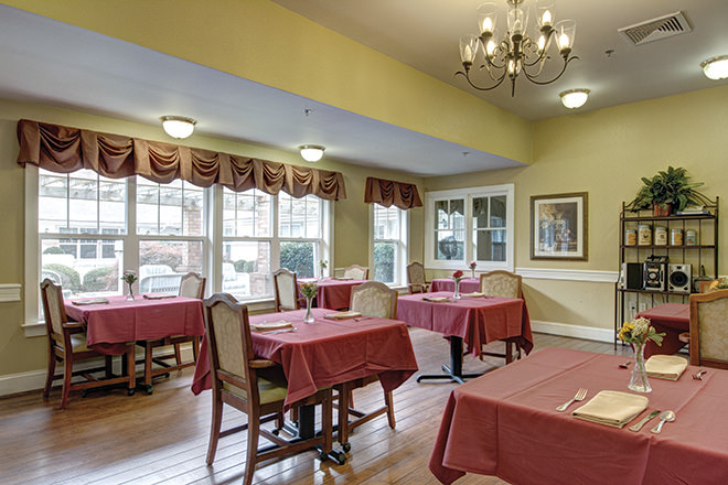 Brookdale Virginia Beach Dining Room