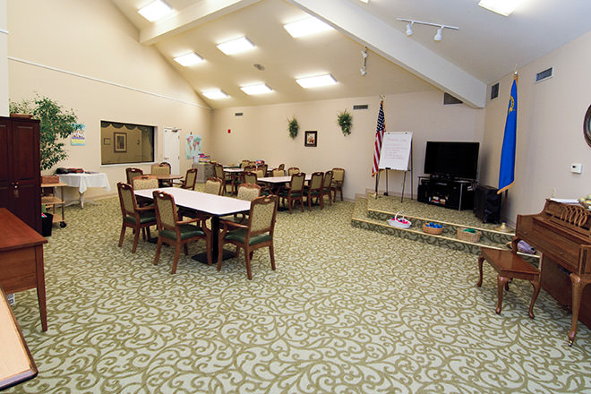 Brookdale Vista Activity Room