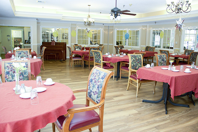 Brookdale Wake Forest Dining Room